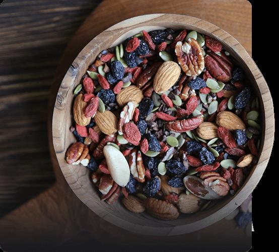Орехово-ягодные смеси