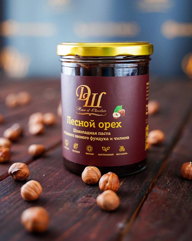 https://domchokolada.ruБанка шоколадной ореховой пасты