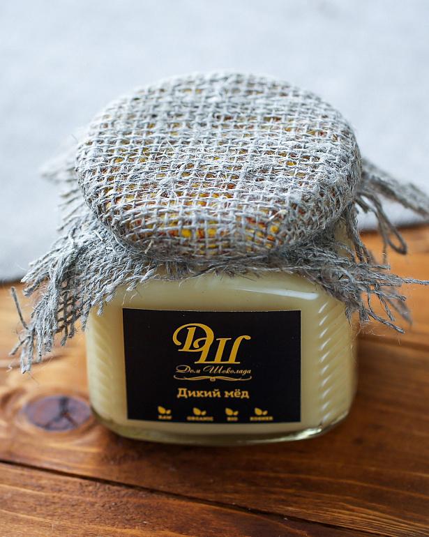 https://domchokolada.ruНатуральный мёд в банке фото